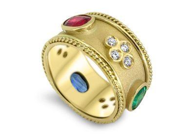 Emerald, Ruby, Sapphire & Diamond